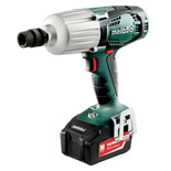 Metabo SSW 18 LTX 600 Cordless Impact Wrench with 2x4.0Ah Batteries