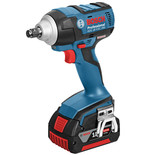 Bosch GDS 18V-EC 250 Cordless Impact Wrench with 2x5.0Ah Batteries