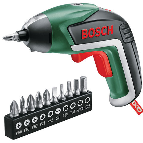 Image of Bosch Bosch IXO 5 Basic Package Screwdriver/Bit Set