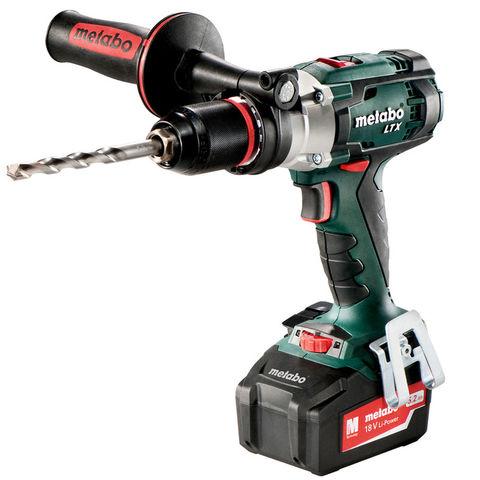 Image of Machine Mart Xtra Metabo SB18LTX 18V Cordless Impuls Combi Drill