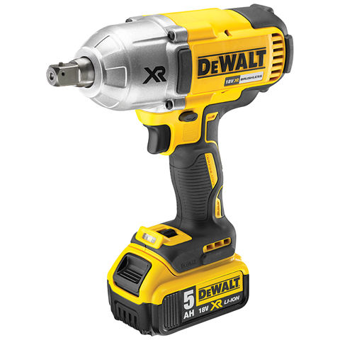 Image of DeWalt DeWalt DCF899P2 XR 18V Impact Wrench 2x5.0Ah Batteries, Charger and TSTAK Case
