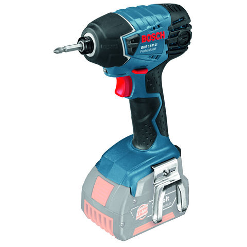 Image of Bosch Bosch GDR 18 V-LI Professional Cordless Impact Driver Bare Unit With L-BOXX
