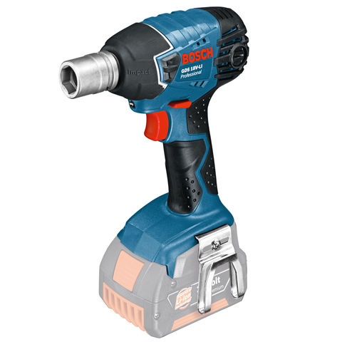 Image of Bosch Bosch GDS 18V-LI Cordless Impact Wrench (Bare Unit with L-BOXX)