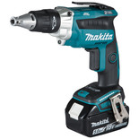 Makita DFS250RTJ 18V LXT BL Brushless Screwdriver with 2 x 5Ah Batteries