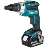 Makita DFS251RTJ 18V LXT BL Cordless Screwdriver with 2 x 5Ah Batteries