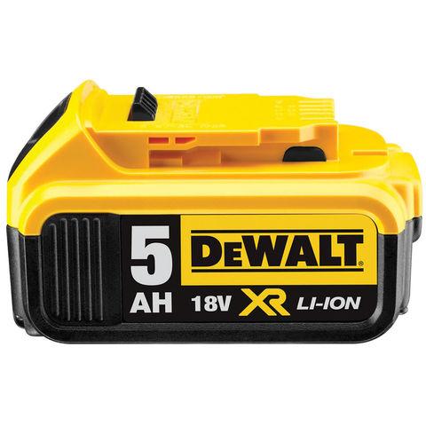 Dewalt Dcb184 18v 5ah Xr Li Ion Battery Machine Mart