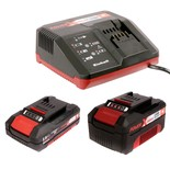 Einhell Power X-Change 18V Starter Kit with 3Ah & 2.0Ah Batteries & Charger