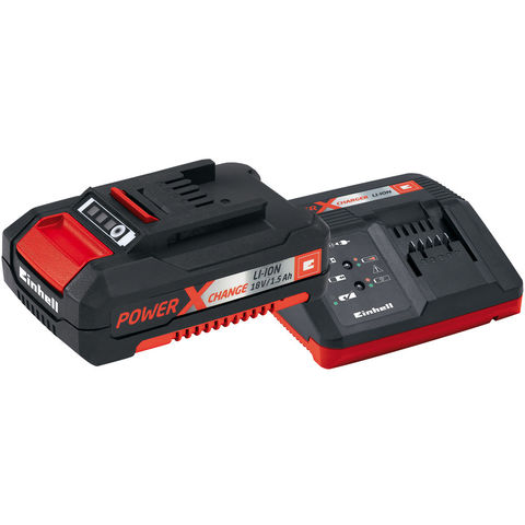 Image of Einhell Power X-Change Einhell Power X Change 1.5Ah Battery and Charger Starter Kit