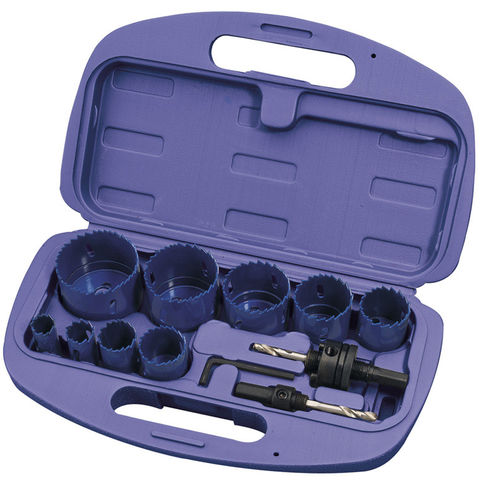 Image of Draper Draper HS/12 Expert 12 Piece Holesaw Kit