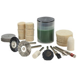 20 Piece Cleaning and Polishing Rotary Tool Kit