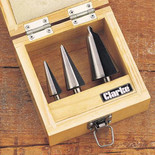 Clarke CHT382 3pc. Tapered Drill Set