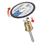 Dremel SC476 EZ SpeedClic Plastic Cutting Wheels 5 Pack