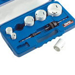 Clarke CHT576 - 6pce Plumbers Hole Saw Set