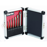 Clarke CHT704 6 Piece Glass Drill Bit Set