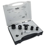 Heller Bi-Metal 'Standard' 5pce Hole Saw Kit