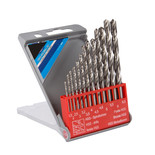 13 Piece HSS Twist Drill Bit Set