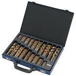 Clarke CHT565 - 170pc Titanium Coated HSS Drill Bit Set