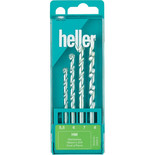 Heller 4 Piece Drill Set for Masonry