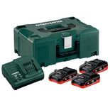 Metabo 3.1Ah Battery & Charger Set- 4 Piece