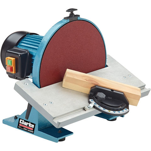 clarke cds300b 12 305mm disc sander machine mart. Black Bedroom Furniture Sets. Home Design Ideas