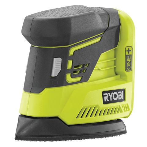 Image of Ryobi One+ Ryobi One+ R18PS-0 18V Cordless Palm Sander (Bare Unit)