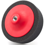 Flexipads 44205 150 x 50mm Black M14 Thread Soft Polishing Foam Pad