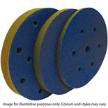 National Abrasives Interface Pads 150mm Assorted 7 Hole x3 pack