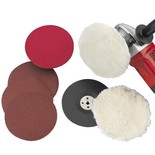 Clarke CPK 180mm Sander / Polisher Accessory Kit