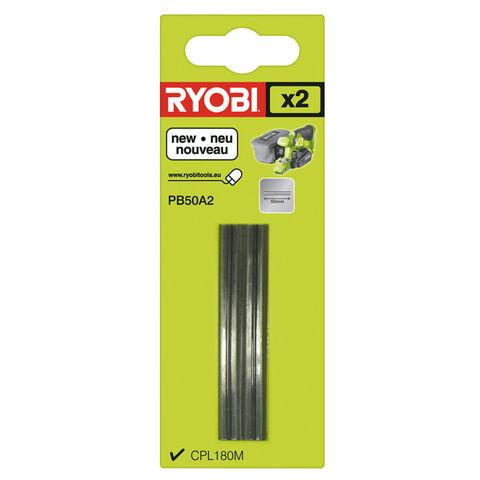 Image of Ryobi Ryobi PB50A2 2 x50mm Planer Blades
