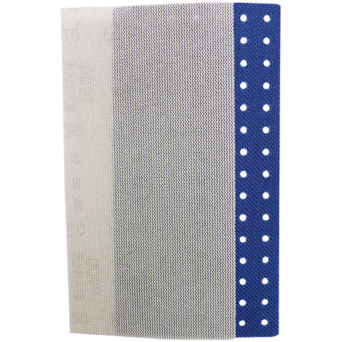 Image of National Abrasives Sianet 1/3 Sheet Net-Backed Abrasive Mixed 5 Pack