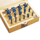"Clarke CHT362 - 15 Pc Router Bit Set (¼"" Shank)"