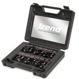 Trend SET/SS8X1/4TC 12 Piece Starter Router Cutter Set