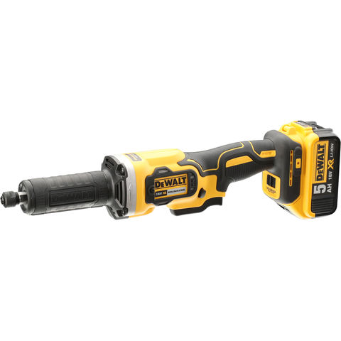 Image of DeWalt XR FlexVolt DeWalt DCG426P2 18V XR Brushless Die Grinder With 2 x 5Ah Batteries