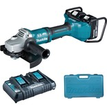 Makita DGA900PT2 18VX2 LXT 230mm Cordless Angle Grinder & 2 x 5Ah Li-Ion Batteries