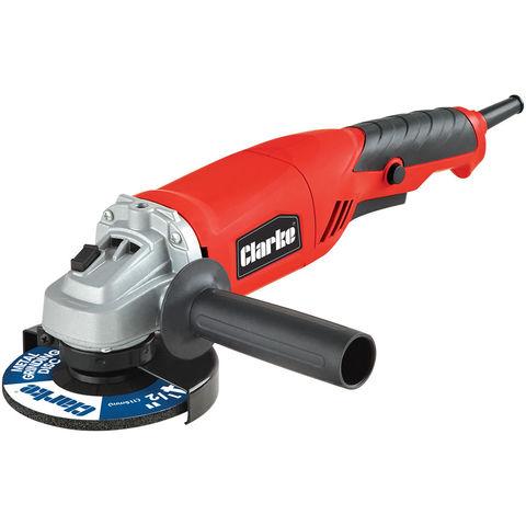 Image of New Clarke CAG800B 800W 115mm Angle Grinder (230V)