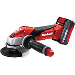 Einhell Power X-Change TE-AG18LI 18V Brushless Angle Grinder 1 x 3Ah Battery
