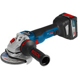 Bosch GWS 18 V-125 SC Professional 18V Angle Grinder with 2x6.3Ah Batteries
