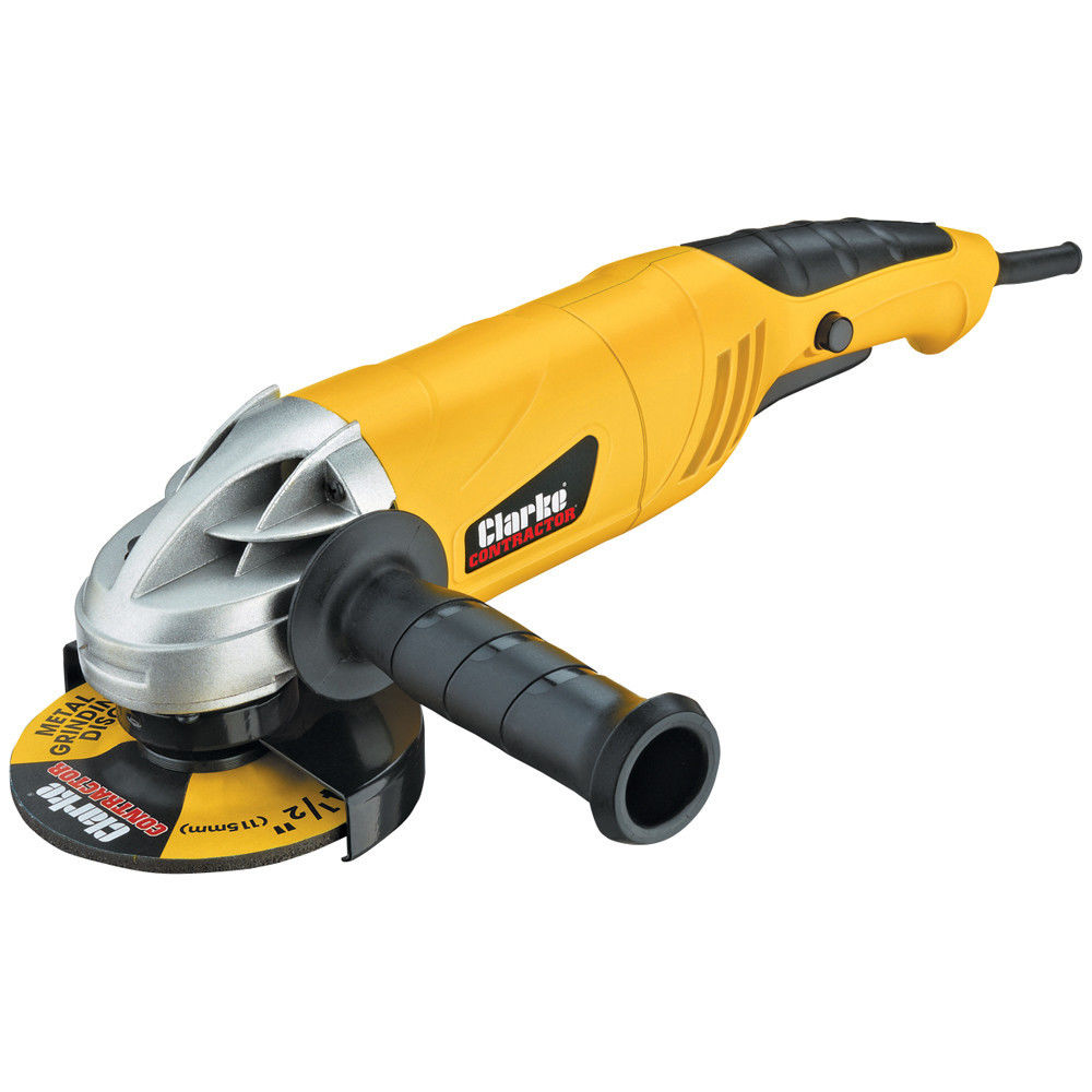 welding grinder. clarke contractor con1050b 1050w angle grinder (with open and closed guards) welding
