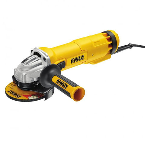 Image of 110Volt DeWalt DWE4206K 115mm Slide Switch Angle Grinder (110V)