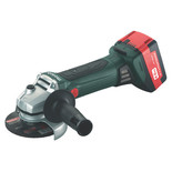 Metabo W18LTX115 18V 115mm Cordless Angle Grinder (With 2 x 4.0Ah Batteries)