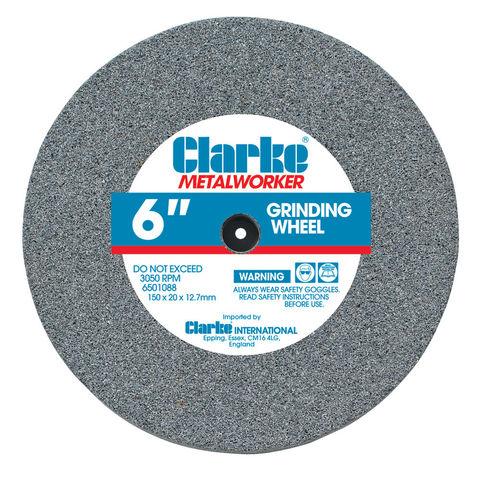 """UK SELLER Medium Clarke 6/"""" Grinding Wheel"""