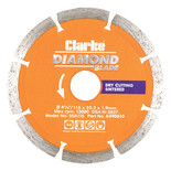 Clarke SSD115 Diamond Blade 115mm