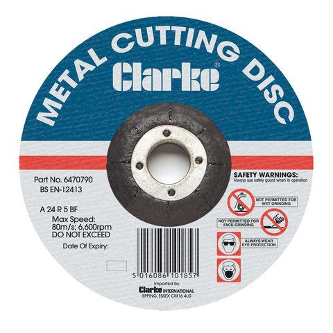 "Image of Clarke Clarke 4"" Metal Cutting Disc"