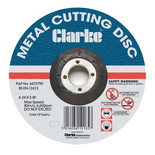 "Clarke 4.5"" Metal Cutting Disc"