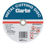 "Clarke 9"" Metal Cutting Disc"