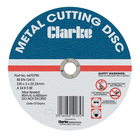 "Image of Clarke Clarke 14"" Metal Cutting Disc"