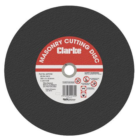 "Image of Clarke Clarke 14"" Masonry Cutting Disc"