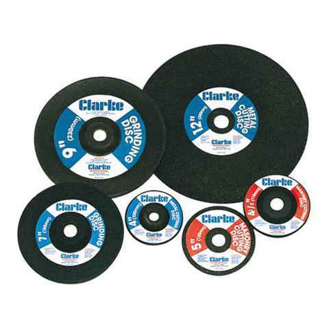 """Image of Clarke Clarke 4.5"""" Metal Grinding Disc"""