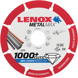 Lenox Metal Max 357mm Diamond Cut-Off Wheel