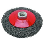 National Abrasives 100mm M14 Bevel Wheel Brush